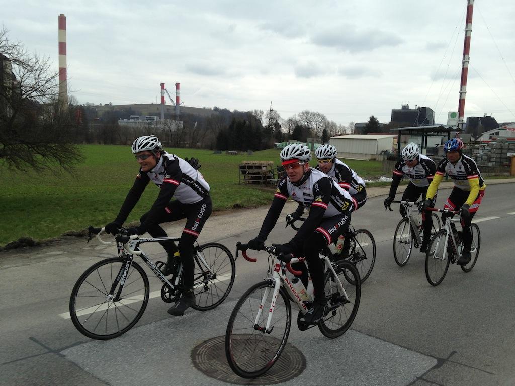 Teamausfahrt 7.4.2013
