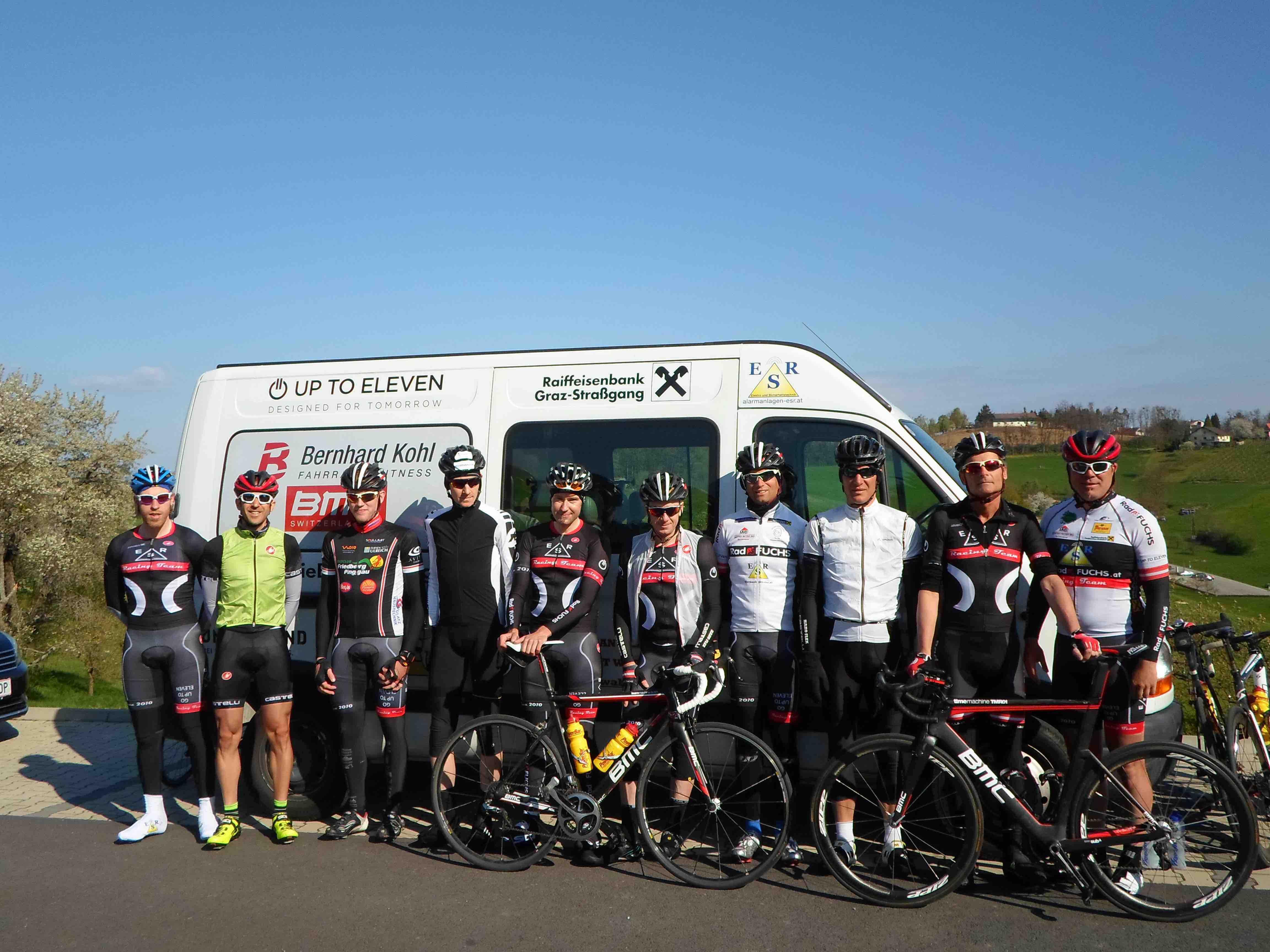Teambuilding ESR Racing by Bernhard Kohl … Alleine sind wir stark – gemeinsam sind wir stärker!