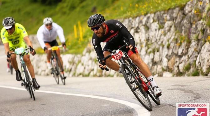 Josi beim Maratona d´les Dolomites